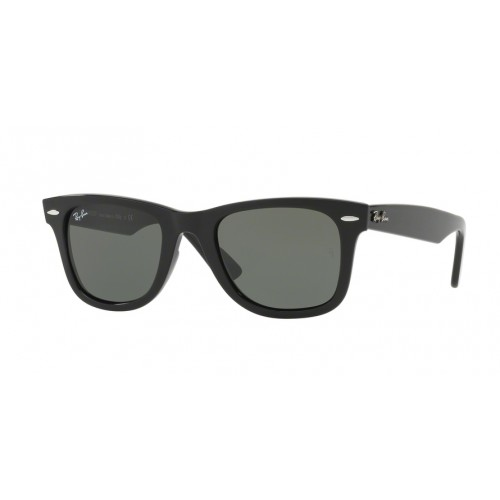 ΓΥΑΛΙΑ ΗΛΙΟΥ Ray-Ban® RB4340 601 50 WAYFARER BLACK / GREEN