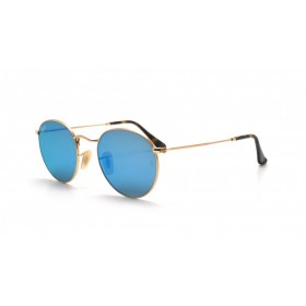 Γυαλια ηλιου Ray-Ban® RB3447N 001/9O 50 ROUND FLAT LENSES GOLD