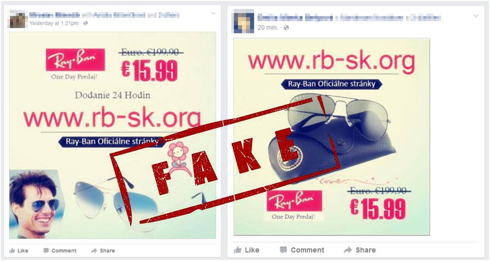 46c9f857b1 Καμπάνιες μέσω Facebook με τιμές κάτω από 50 ευρώ είναι σίγουρα απάτη.  Μπορείτε να δείτε στην φωτογραφία μία από αυτές που εξαπάτησε πολύ κόσμο  πρόσφατα.
